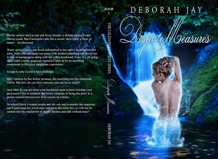 Book Cover - Desprite Measures by AlexandriaDior