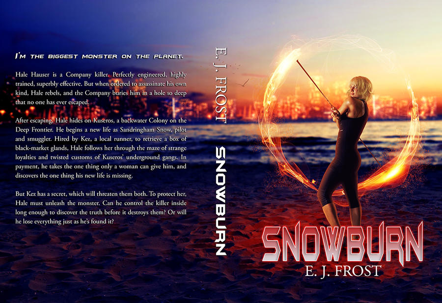 Book Cover - Snowburn by AlexandriaDior