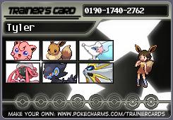 Trainer card by EeveeTMI