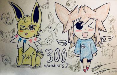 300 Watchers Special by EeveeTMI