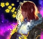 Frisk flowerfell