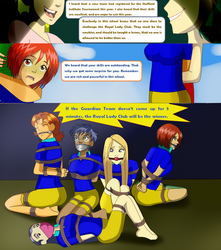 W.I.T.C.H girls On the Game Page 1 by nghiatanker