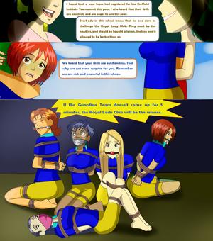 W.I.T.C.H girls On the Game Page 1