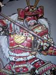 left samurai detail by Brizoporto