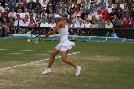 Wimbledon 2007 - M Sharapova