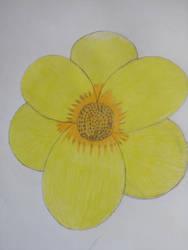 Yellow flower by Yoji095