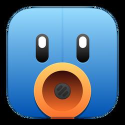 Tweetbot OS X Icon (iOS 7 style) by johnLongview
