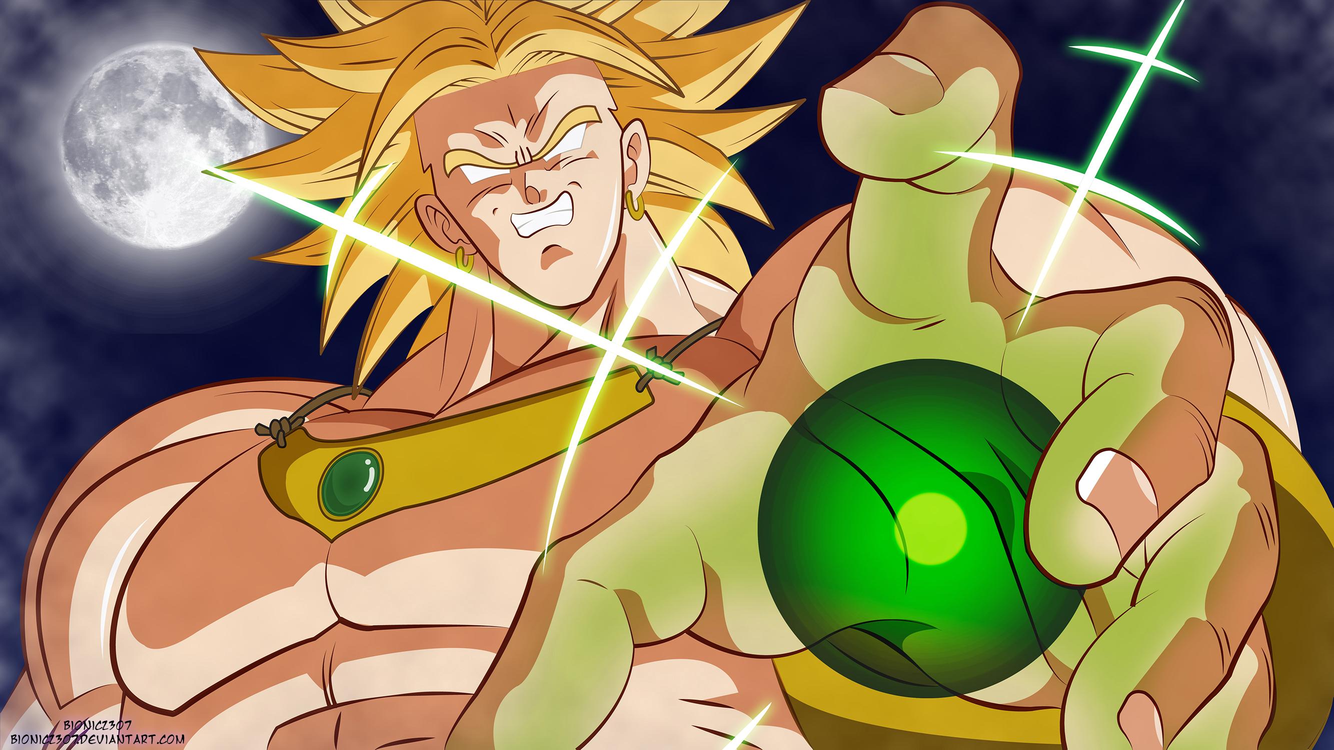 Broly The Legendary Super Saiyan By Bionic2307 On Deviantart
