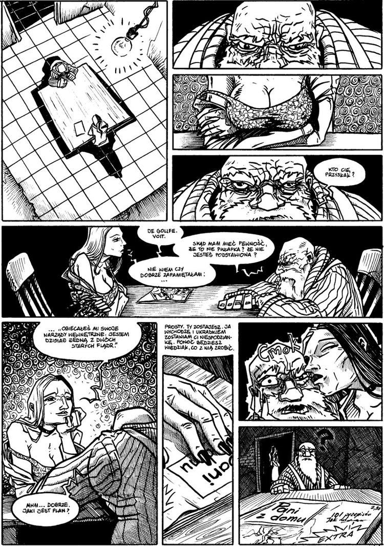 House of Morrow vol.5 page 2 by marcosharps