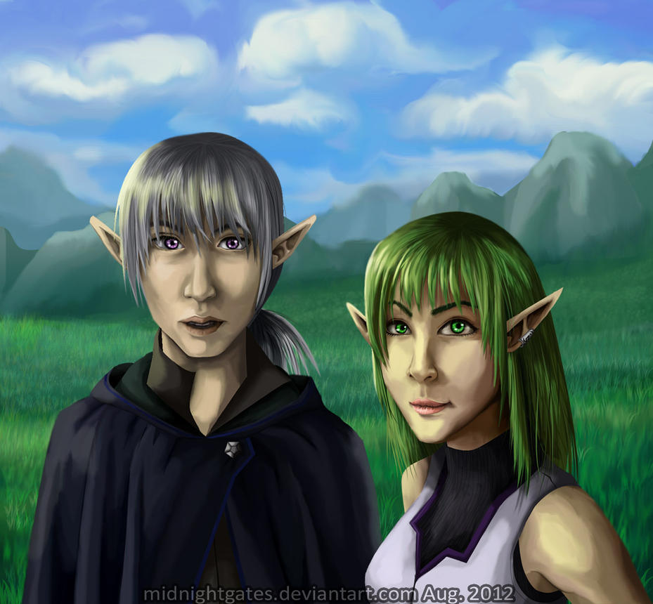Yin and Symona by midnightgates