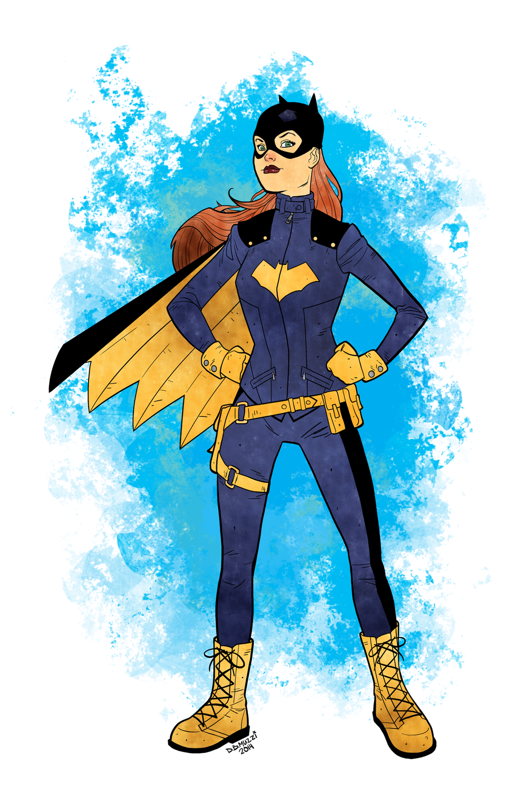 Batgirl by muzzillustrations