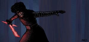 Kylo Ren's Rage. by muzzillustrations