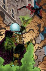 Spidey vs Mysterio!