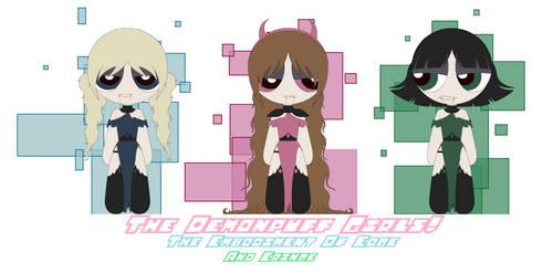 OC: Demonpuff Girls by TheDiamondDays