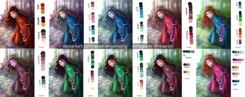 Color Schemes for Illustration