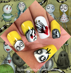 The World of Stain Boy Inspired Nail Art
