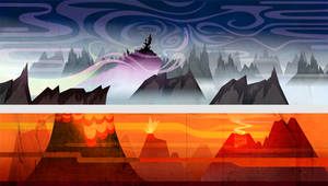 background Generique wakfu by Inkola