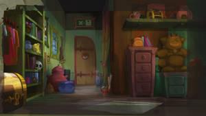 Background for Kerubim episode :  Keke Rikiki by Inkola