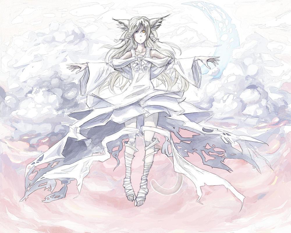 Kitty Goddess by SleepingSeaweed