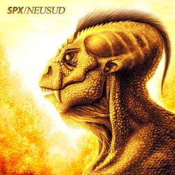 Enkidu - Alfa Draconis Reptiliano by ALONESPINOXA
