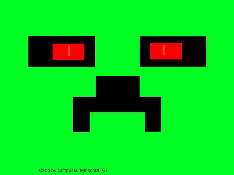 Creeper Face by conpossu on DeviantArt