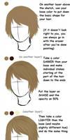 Quick Hair Tutorial - Paint Tool Sai (OLD)