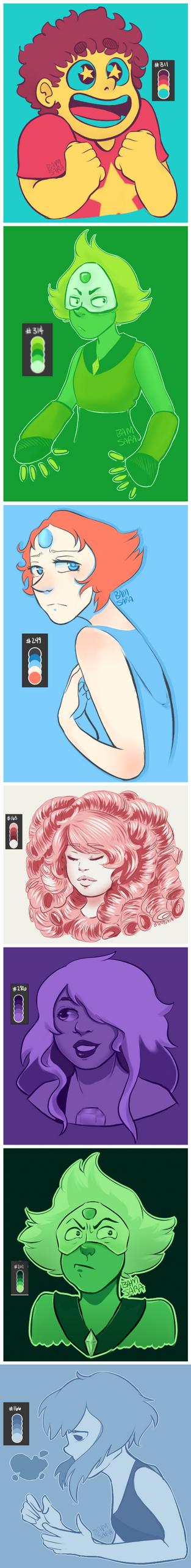 SU Colors by BamSaraKilledYou