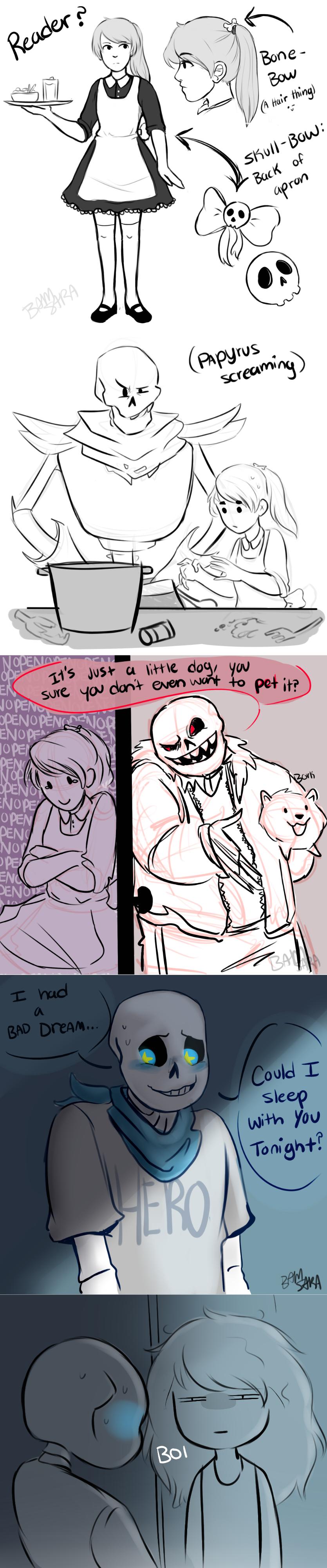 Six Skeletons, One Maid by BamSaraKilledYou