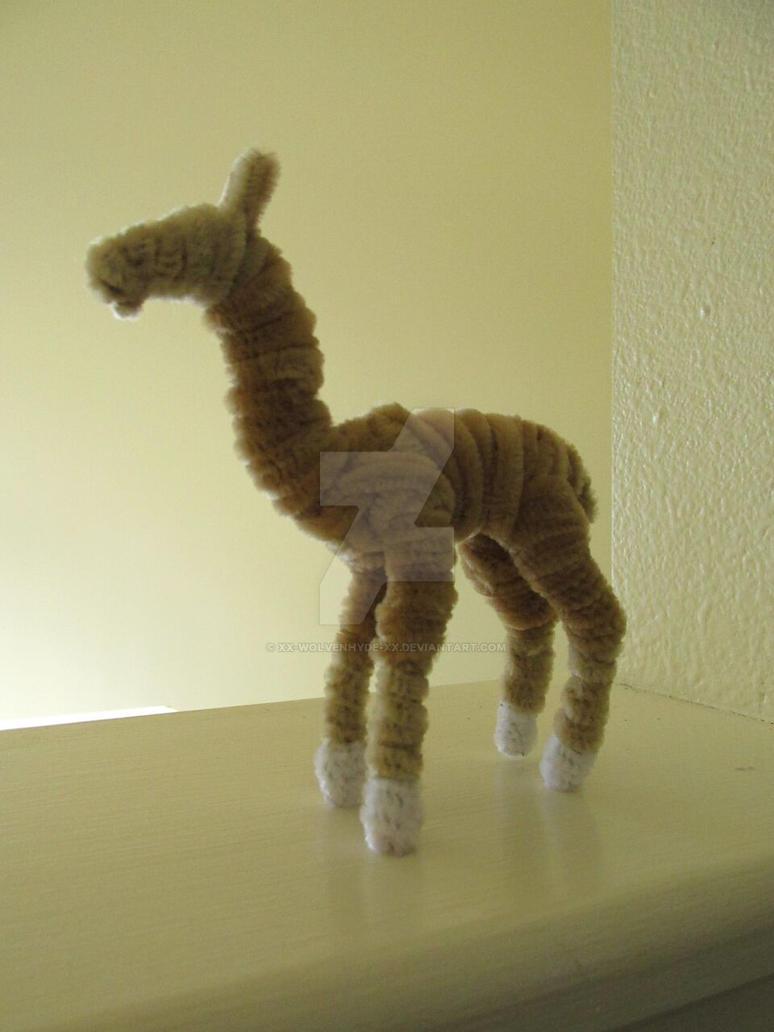 Pipe Cleaner Llama by IsellaHowler