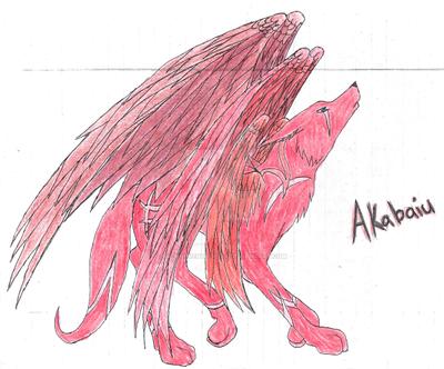 Original Akabaiu by IsellaHowler