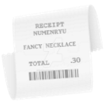 Receipt for Numenryu by IsellaHowler