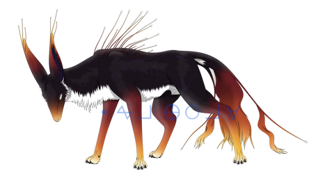 Nightstalker Adopt Auction by xX-Wolvenhyde-Xx