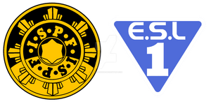 .I.S.P.F. and .E.S.L.1. logos