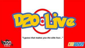 D20 Live ConBravo 2018 Alternate Title card
