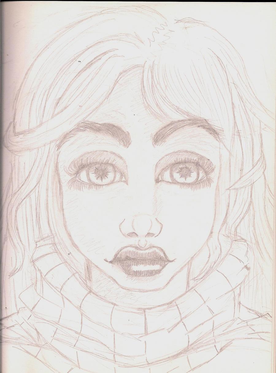 Realistic Flow Sketch by AnonTheDarkOne