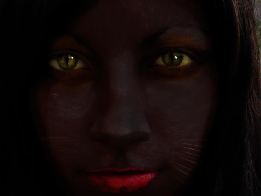 Cat Girl by AnonTheDarkOne