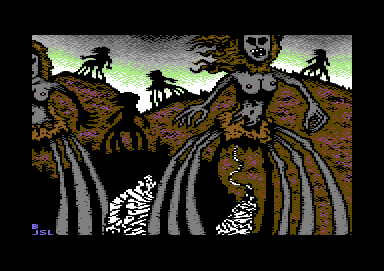 arachnid c64 work by JSL and Bugjam by jslptv