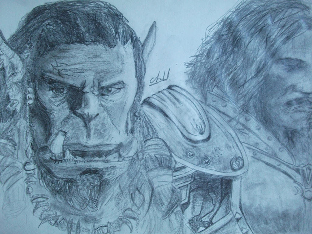 Durotan and Anduin by Kompy10