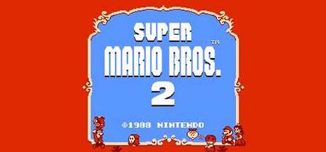 Super Mario Bros  2 NES Steam Grid Image by t0xiccarnage on