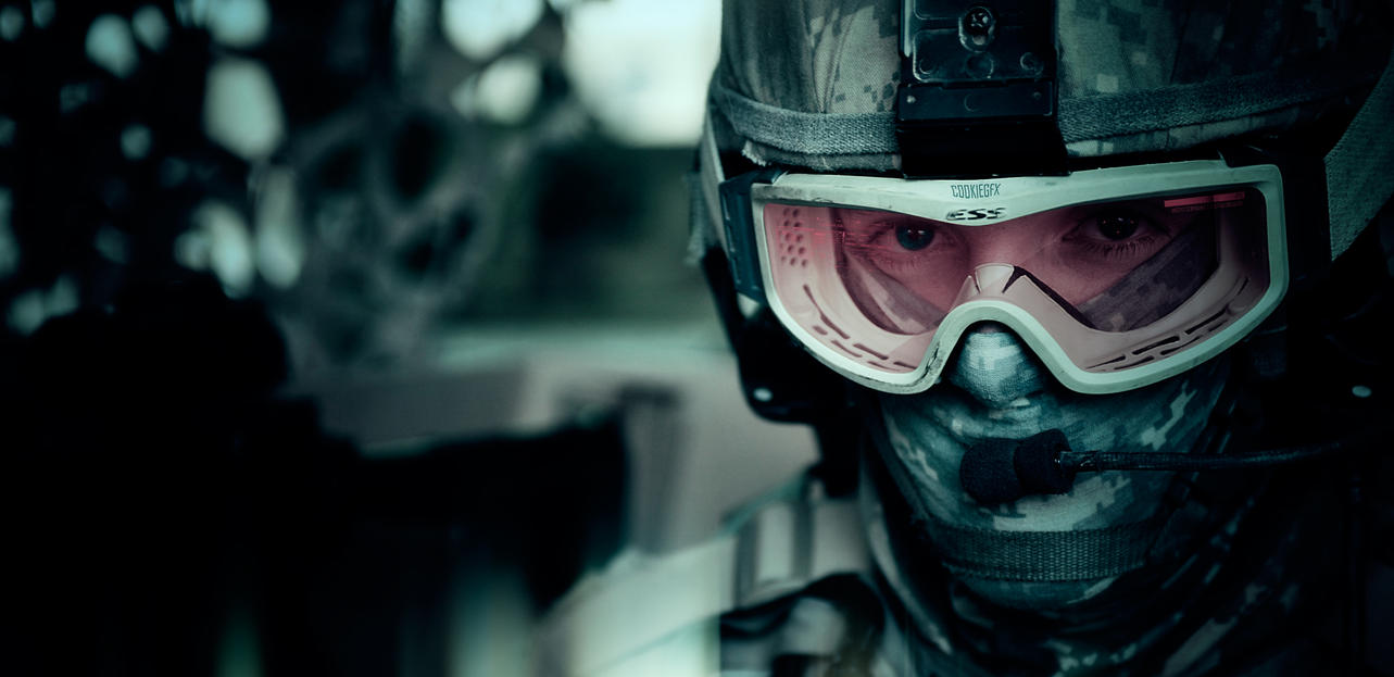 Awesome soldier photomanipulation by CookieGFX