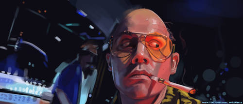 Day 37-40: Fear and Loathing by YogJoshiArt