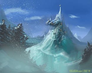 Ice Village by YogFingers