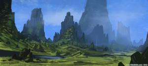 Landscape by YogFingers