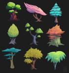 Stylized Trees