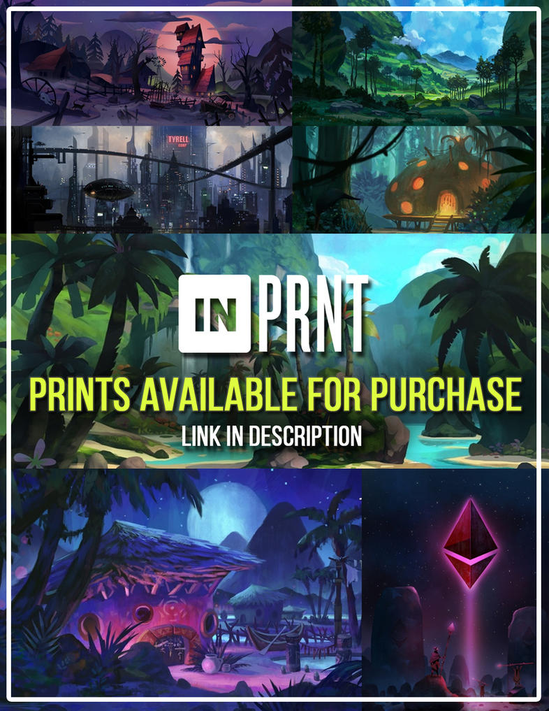 Prints Available for Purchase by YogFingers