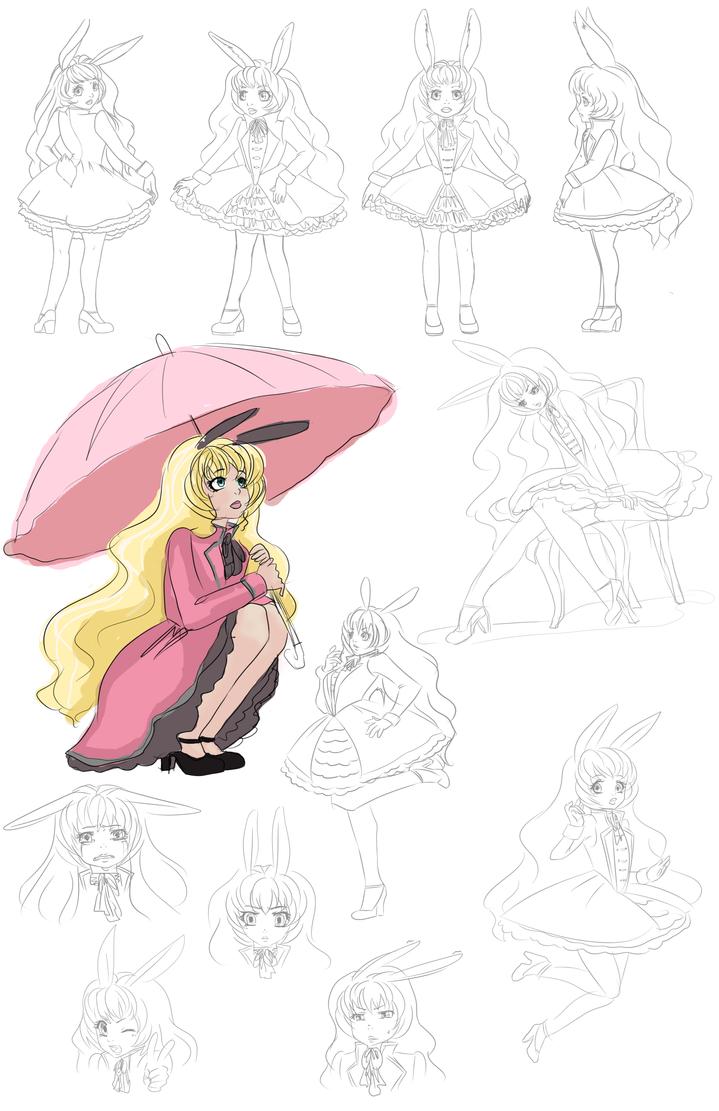 Character Design Oc : Oc chise character design by veenaviera on deviantart