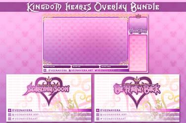 Kingdom Hearts Stream Graphics by VeenaViera