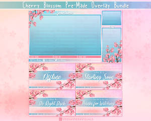 Cherry-blossom-overlay-package