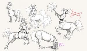 More She-Ra Centaur AU