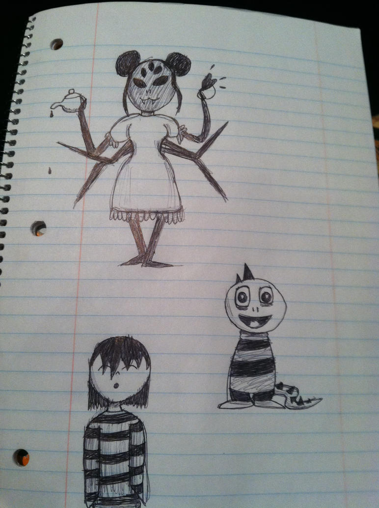 Undertale Doodles by blairdiggory